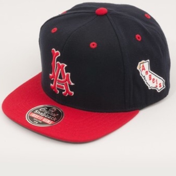 286225e7 American Needle Accessories   Angels Logo Baseball Hat   Poshmark